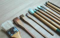 色補正用の多彩な筆