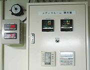 温度と湿度を1年中コントロール、保管環境状況の記録を残します。