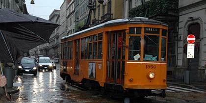 歴史のある重厚な街ミラノ