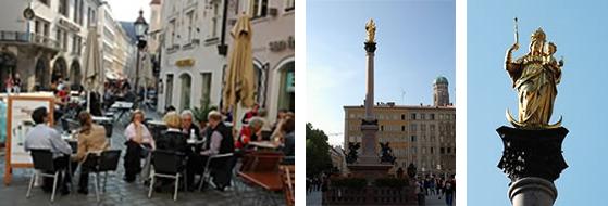 活気あふれる街ミュンヘン