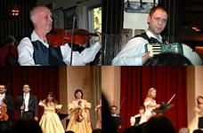 ホイリゲ(居酒屋)での演奏/アウアースペルク宮殿でのコンサート