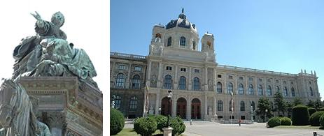 美術史博物館の外観