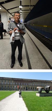 アラベラパーク駅/アルテ・ピナコテーク美術館