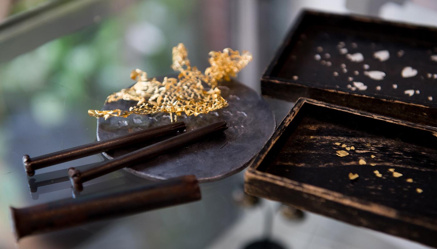 日本が育んできた象嵌の美を次世代に伝えたい
