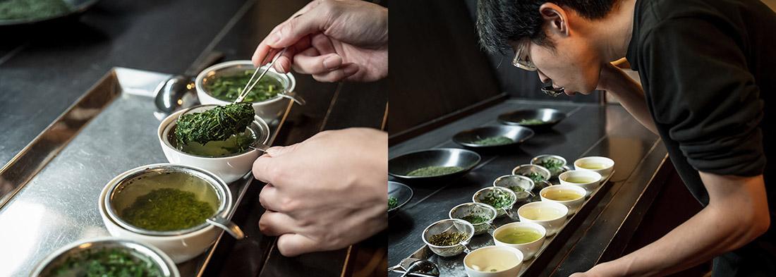 中村藤𠮷本店のお茶